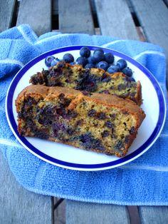 #paleo Blueberry & Chocolate Chip Pumpkin Loaf