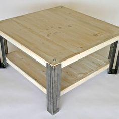 Rustic Metal Table Legs Gale Coffee Table