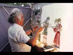 Shadow Theater, Puppets, Folk Art, Theatre, Animation, Shadows, Greek, Boat, Painting