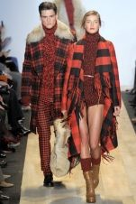It's all about the tartan for AW12 (@Michael Kors, @Mercedes-Benz Fashion Week New York)