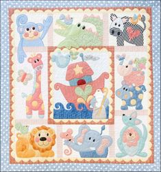 Create this wonderfully whimsical appliqued quilt featuring animals like Cheeky Monkey, Zippy Zebra, Flopsy and Roo! The applique pieces are all pre-fused with Soft Fuse Fusible and laser cut to provide precision pieces that match the original pattern pieces. The program includes the complete pattern set, all the fabrics for your quilt top, borders and binding plus laser cut applique pieces.