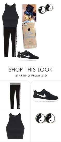 """""""Untitled #315"""" by nerdgirl14-boss on Polyvore featuring NIKE, Topshop and Agent 18"""