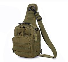 Military Backpack - Molle Cross Body Bags Bolsas 4 Ways Use Digital Camouflage Shoulder Bolsos. Scratch resistant, anti tear ripstop, durable, water proof nylon. Hunting, School,fly fishing,camping,travel,mountaineering,trekking,gym. Ergonomics defense equipment combat life saver SWAT police gear.