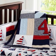 Regatta Nursery Bedding from Pottery Barn Kids