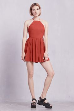 The Beverly Dress   https://thereformation.com/products/beverly-dress-ketchup
