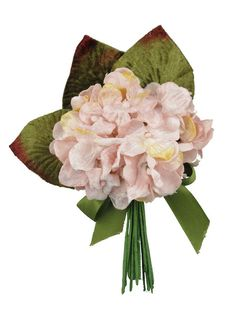 miss rose sister violet   Hydrangea Posy (French Pink)