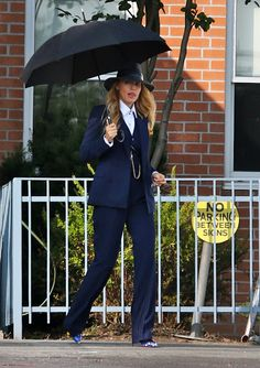 Lemon GreenTea: A Simple Favor: Best Looks from Blake Lively and A. Lemon GreenTea: A Simple Favor: Best Looks from Blake Lively and A. Blake Lively Outfits, Mode Blake Lively, Blake Lively Style Casual, Blake Lively Movies, Blake Lively Fashion, Blake Lively Wedding, Blake Lively Dress, Suit Fashion, Fashion Outfits
