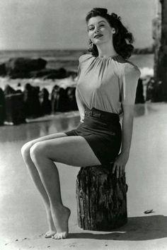 "classic-hollywood-glam: ""Ava Gardner """