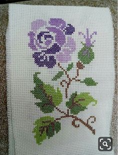 This Pin was discovered by Neş Embroidery Stitches, Embroidery Patterns, Hand Embroidery, Cross Stitch Patterns, Learning To Embroider, Crochet Bedspread, Beaded Cross, Brazilian Embroidery, Crochet Flower Patterns