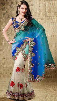 #Beautiful Chic #Lehenga #Saree