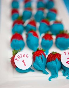 Dr Seuss Cat in the Hat Birthday Party Ideas | Photo 16 of 20 | Catch My Party