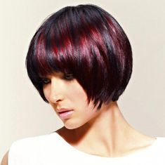 Trendy ideas for how to style bob haircut side bangs Inverted Bob Hairstyles, Bob Hairstyles For Fine Hair, Medium Bob Hairstyles, Short Bob Haircuts, Cool Hairstyles, How To Cut Bangs, Short Hair With Bangs, Fringe Bangs, Short Fringe