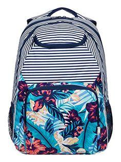 Roxy Womens Shadow Swell Backpack Norfolk TropicalDiamond Blue  gt  gt  gt   Check this b94d1cf718203