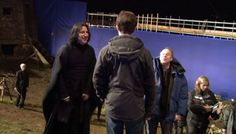 Alan Rickman (2009) During the filming of Harry Potter and the Half-Blood Prince