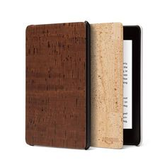 No one noticed that Amazon has introduced a gorgeous Kindle cover made from cork