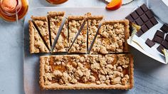 Cut into pie-like wedges, this citrusy, streusel-topped bar cookie makes an unexpected yet spectacular Thanksgiving dessert.