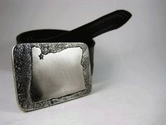 Portland Belt Buckle - Etched Stainless Steel by RhythmicMetal, $60.00 +5 shipping. Made in Portland, obvs.
