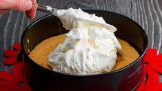Recept na mléčný krém, který dobyl internet!  Chutný TV Mousse Mascarpone, Romanian Desserts, Cake Factory, Gelato, Biscotti, Food Videos, Cheesecake, Bakery, Deserts