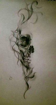 Clock tattoo - Tattoos - Tattoo Designs For Women Animal Skull Tattoos, Bird Skull Tattoo, Pirate Skull Tattoos, Bull Skull Tattoos, Small Skull Tattoo, Skull Tattoo Flowers, Skull Sleeve Tattoos, Sugar Skull Tattoos, Skull Tattoo Design