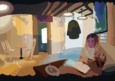 featured sundays on animataurus ekaterina vakulenko