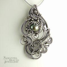 Cascade Mermaid Amulet by Samantha Braund