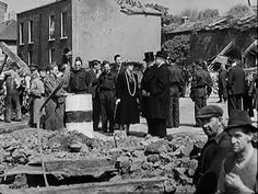 North Strand Bombing Ireland 1916, Dublin Ireland, Dublin Street, Old Photos, War, History, Places, Old Pictures, Historia