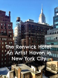 A haven for artists (and business travelers!) in New York City