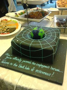 Buzz Blog: The Awesomest Physics Cake Ever