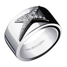 Mauboussin of Paris - you will find very unique jewelry items. Here is an 18K ring from the etoile collection.
