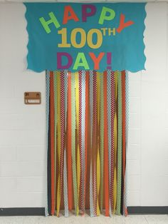 100th day of school. 100th day of school door. | Bulletin ...