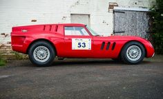 1965 Iso Rivolta Breadvan Race Car