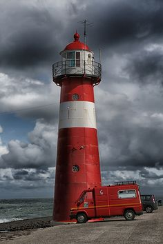 Westkapelle Laag Noorderhoofd Lighthouse, Westkapelle, Netherlands