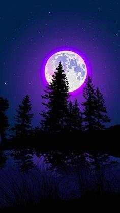 Moon Glow IPhone Wallpaper - IPhone Wallpapers