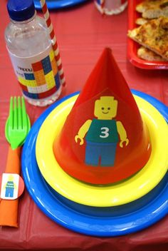 Lego party hat
