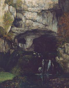 La Source de la Lison,1864 - Gustave COURBET