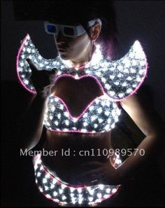 LED Daner costume  / LED Dress / LED Suits / LED robot $420.00