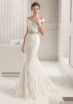 Rosa Clara 2015 / Off-The-Shoulder Mermaid Wedding Dress, Gown - Hong Kong   Designer Bridal Room