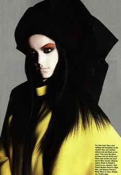 Viktoriya Sasonkina by Michael Thompson for Allure December 2009
