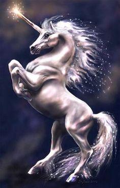 Unicorn in a classic pose