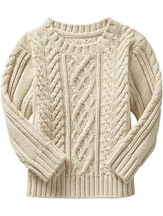 Fisherman's sweater.