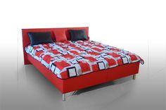 Luxusná dvojposteľ na nožičkách Columba Bed, Furniture, Home Decor, Decoration Home, Stream Bed, Room Decor, Home Furnishings, Beds, Home Interior Design