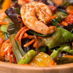 Roasted Shrimp & Veggie Salad by Tasty
