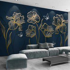 Latest Wallpaper Designs, Trendy Wallpaper, Wallpaper Wall, Modern Living Room Wallpaper, Embossed Wallpaper, Wall Texture Design, Wall Painting Decor, Mural Wall Art, Wall Decor Design