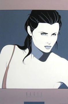 Commemorative #14, Ltd Ed Silk-screen Poster, Patrick Nagel - Screen-signed
