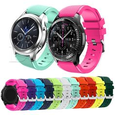 Silicone Bracelet Watch Band Wrist Strap For Samsung Gear S3 Frontier/S3 Classic