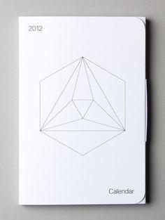 2012 calendar // (Self initiated, Packaging) by Lo Siento Studio, Barcelona Branding And Packaging, Packaging Design, Branding Design, Paper Packaging, Graphic Design Typography, Graphic Design Illustration, Kalender Design, Web Design Mobile, 2012 Calendar