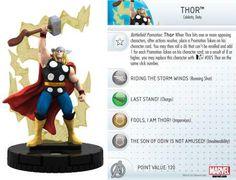 Thor #016 Marvel 10th Anniversary Heroclix Singles