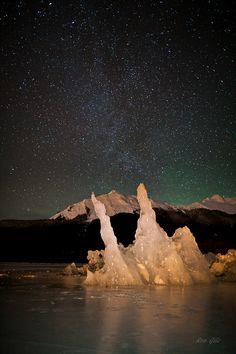 Iceberg & Stars - Juneau, Alaska