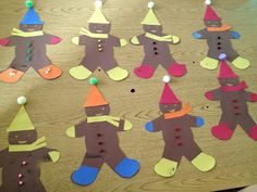 Gingerbread activity using PECS.