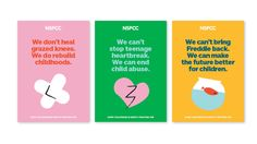 There has recently been several Children's charity rebrands. But which one gets your vote?